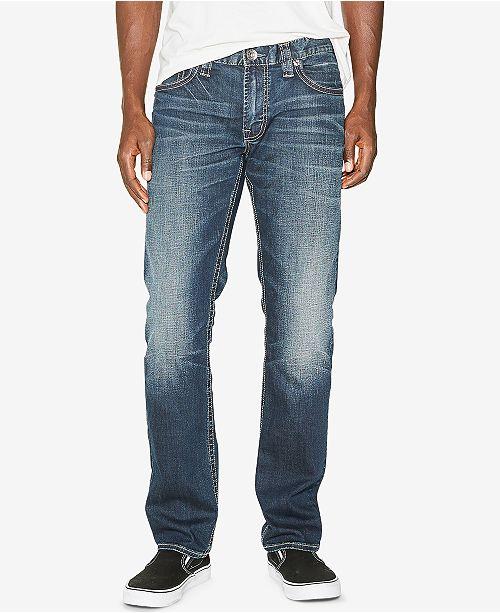 fd33e5d5 Silver Jeans Co. Silver Jeans Men's Allan Classic Fit Slim Jeans ...