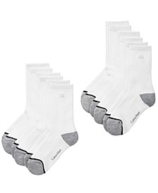 6-Pk. Crew Socks, Little & Big Boys
