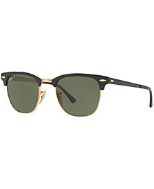 Ray-Ban Sunglasses, RB3716 CLUBMASTER METAL