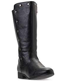 Nine West Little Girls' Stephanie Riding Boots from Finish Line