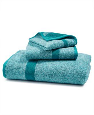 LAST ACT! Mingle Cotton Reversible Yarn-Dyed Fashion Washcloth