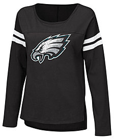 G-III Sports Women's Philadelphia Eagles Free Agent Long Sleeve T-Shirt