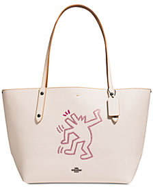 COACH Keith Haring Dancing Dog Market Tote