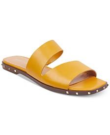 Marc Fisher Jaylin Studded Flat Sandals