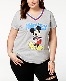 Disney Plus Size Mickey Mouse T-Shirt