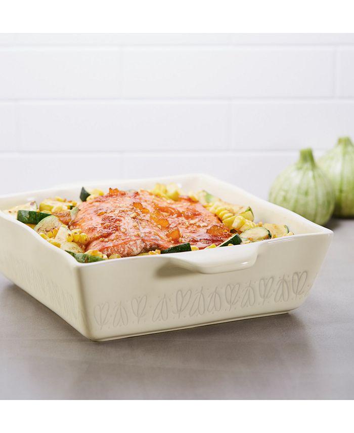 """Ayesha Curry - Stoneware 8"""" Square Baking Dish"""