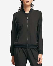 DKNY Sport Graphic Bomber Jacket