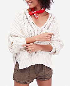Free People Infinite Cotton High-Low Sweater