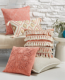Lacourte Soft Pinks Decorative Pillow Collection, Created for Macy's