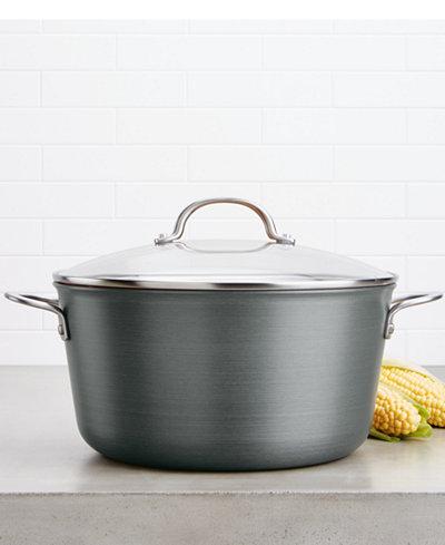 Ayesha Curry 10-Qt. Hard-Anodized Aluminum Stockpot & Lid