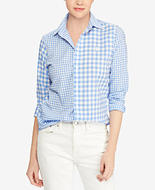 Polo Ralph Lauren Classic Fit Cotton Gingham Shirt