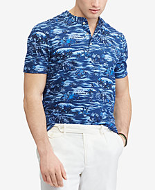 Polo Ralph Lauren Men's Featherweight Mesh Henley Shirt