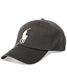 Polo Ralph Lauren Men's Big & Tall Chino Baseball Cap