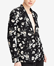 Lauren Ralph Lauren Floral-Print Blazer