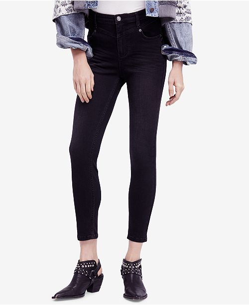 People Black Mara Skinny Jeans Ankle Free qzd0Uwx0P