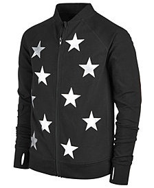 Ideology Star-Print Jacket, Big Girls, Created for Macy's
