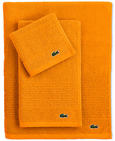 "Lacoste Legend 16"" x 30"" Supima Cotton Hand Towel"