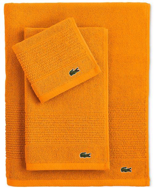 Lacoste CLOSEOUT! Legend Supima Cotton Bath Towel Collection