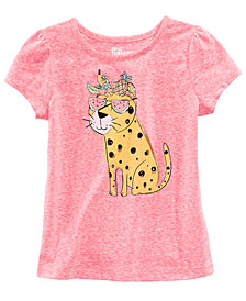 Epic Threads Cheetah Printed T-Shirt, Toddler Girls, Created for Macy's