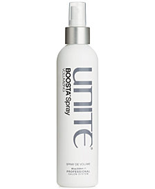 UNITE BOOSTA Volumizing Spray, 8-oz., from PUREBEAUTY Salon & Spa
