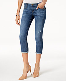 Kut from the Kloth Petite Maggie Cropped Jeans
