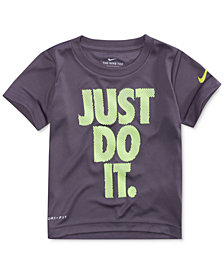 Nike Just Do It-Print T-Shirt, Little Boys