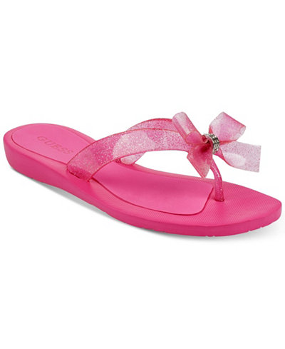Guess Rub Flip flops Color Pink  Women