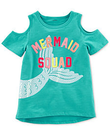 Carter's Mermaid Squad Cotton T-Shirt, Little Girls & Big Girls
