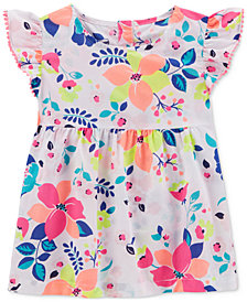Carter's Floral-Print Cotton Top, Little & Big Girls