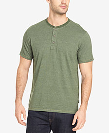 G.H. Bass & Co. Men's Feeder Stripe Henley T-Shirt