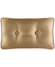 J Queen New York Concord Gold Boudoir Decorative Pillow