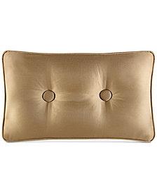 J Queen New York Concord Gold Boudoir Decorative Pillow