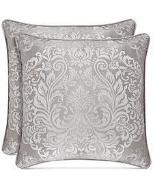 "J Queen New York La Scala 20"" Square Decorative Pillow"