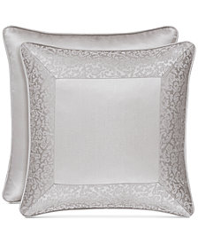 "J Queen New York La Scala 18"" Square Decorative Pillow"