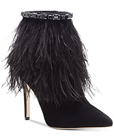 Jessica Simpson Piume Feather Booties