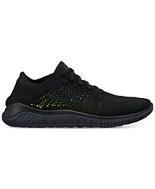 Nike Men's Free Run Flyknit 2018 Running Sneakers from Finish Line