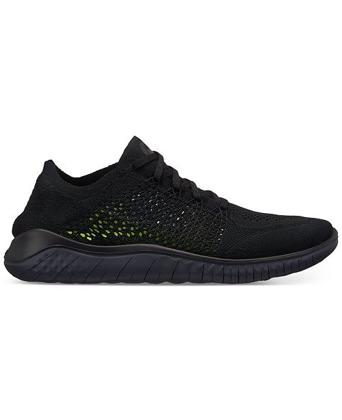 49fc02fa27cec Nike Men s Free Run Flyknit 2018 Running Sneakers from Finish Line ...