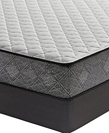 "MacyBed by Serta  Resort 10.5"" Firm Mattress Set - Queen, Created for Macy's"