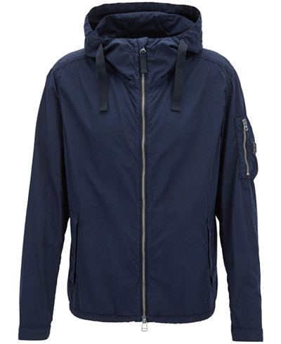 BOSS Men's Brushed Cotton Jacket