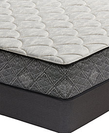 "MacyBed by Serta  Premium 10"" Plush Mattress Set - Queen Split, Created for Macy's"