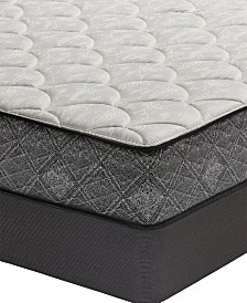 "MacyBed by Serta  Premium 10"" Plush Mattress Set - Queen, Created for Macy's"