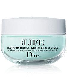 Dior Hydra Life Hydration Rescue Intense Sorbet Creme, 1.7 oz.