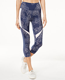 Calvin Klein Performance Radiate Printed Cropped Leggings
