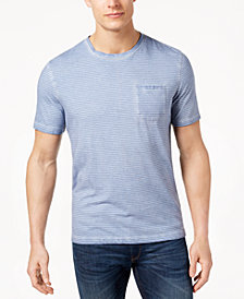 Michael Kors Men's Striped Pocket T-Shirt