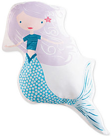 "Laura Hart Kids Mermaids 21"" x 21"" Decorative Pillow"