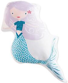 "My World Mermaids 21"" x 21"" Decorative Pillow"