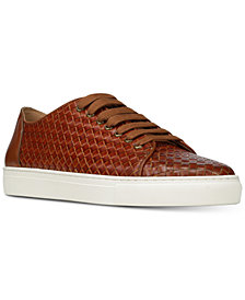 Donald Pliner Men's Alto Woven Calf Leather Sneakers
