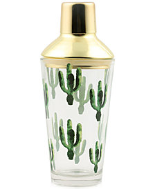 CLOSEOUT! Thirstystone Cactus Cocktail Shaker