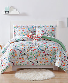 Laura Hart Kids Animal Alphabet Full/Queen 3-Pc. Comforter Set