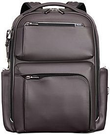 Tumi Men's Arrivé Bradley Leather Backpack